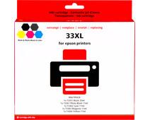 Pixeljet 33XL Cartridges Combo Pack
