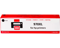 Own brand 970 Black XL for HP printers (PCN625AE)