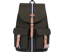 Herschel Offset Dawson Forest Green/Veggie Tan Leather