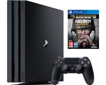 Sony PlayStation 4 Pro 1 TB COD WWII Bundel