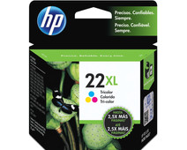 HP 22XL Combo Pack Tri-color (C9352CE)