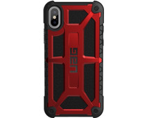 UAG Monarch Crimson Apple iPhone X Back Cover Rood