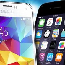 Vergelijk Samsung S5, iPhone 6