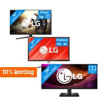 Aanbiedingen LG Monitoren