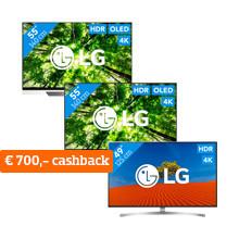 Aanbieding LG Televisies