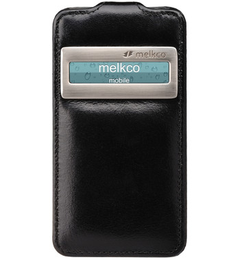 Melkco Premium Case Black Apple iPhone 4 / 4S