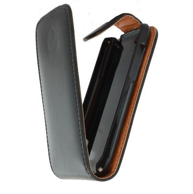 Xccess Leather Flip Case Nokia Lumia 820 Black