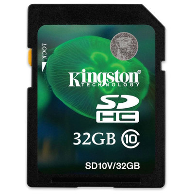 Kingston SDHC 32GB Class 10 UHS-1