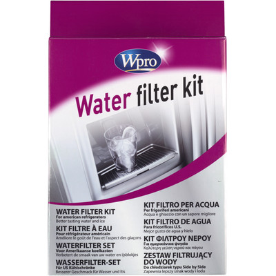 Wpro UFK001 Universele Waterfilterset voor Amerikaanse Koelkasten