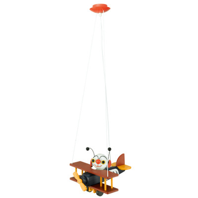 EGLO Airman Hanglamp - 1 Lichts - Bont