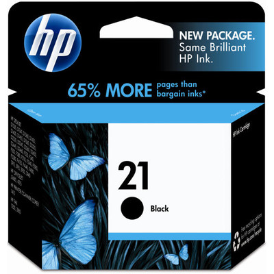HP 21 Cartridge Zwart (HPC9351A)