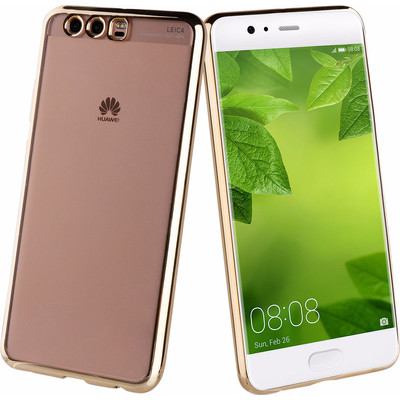 Muvit Bling Huawei P10 Back Cover Goud