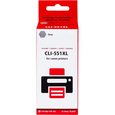Pixeljet CLI-551XL Cartridge Grijs