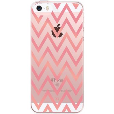 Xqisit Shell Zigzag Apple iPhone 5/5S/SE Back Cover