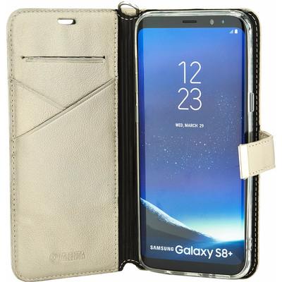 Valenta Premium Samsung Galaxy S8 Plus Book Case Goud