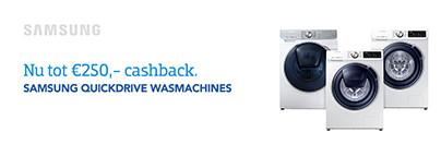 Samsung Cashback Wasmachines