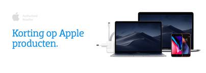 Korting op Apple producten