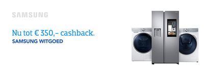 Samsung Witgoed Cashback