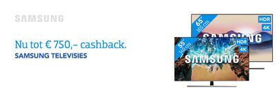 Samsung Televisies Cashback