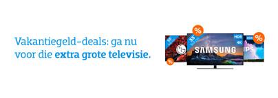 Vakantiegeld 2020 - Televisies