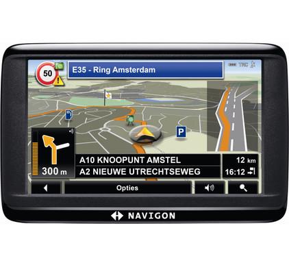 Navigon 40 Easy + Tas + Thuislader