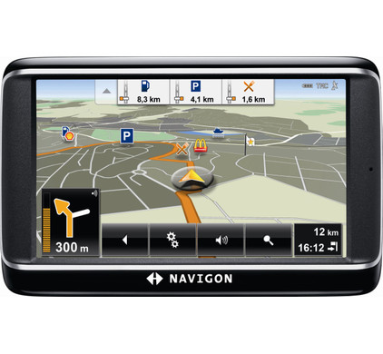 Navigon 40 Plus + Tas + Thuislader