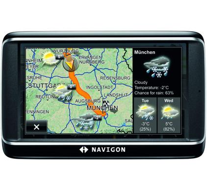 Navigon 40 Premium Live  + Tas