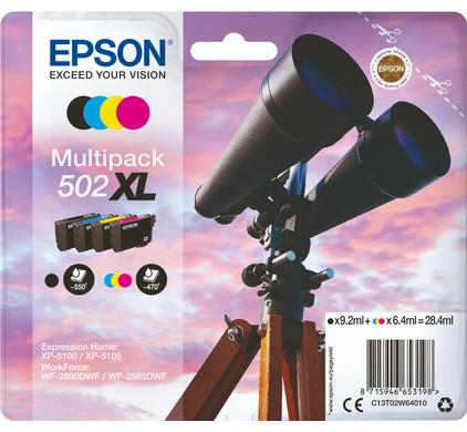 Epson 502XL 4-Kleuren Pack (C13T02W64010)