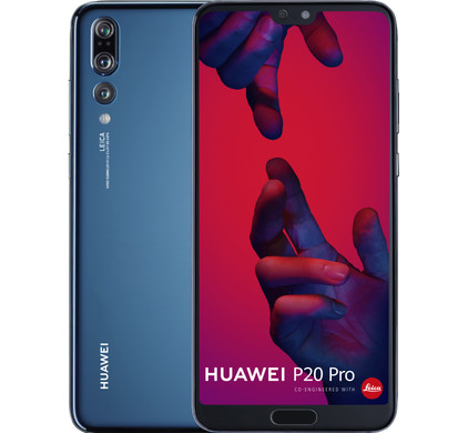 Huawei P20 Pro Blauw Main Image
