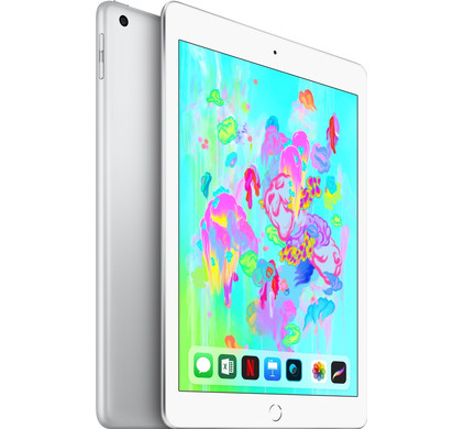 Apple iPad (2018) 32GB Wifi + 4G Silver Main Image