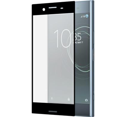 Azuri Edge to Edge Sony Xperia XZ Premium Screenprotector Glas Zwart