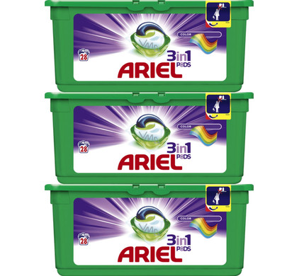 Ariel 3in1 Pods Colour
