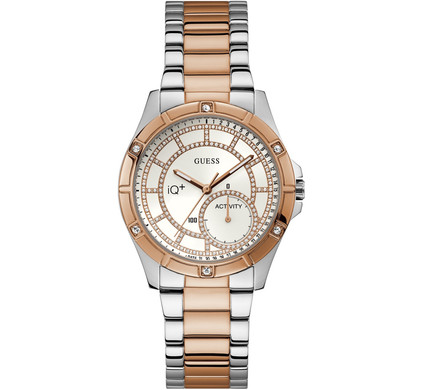 Guess Connect IQ Plus Rose Gold/Silver Main Image