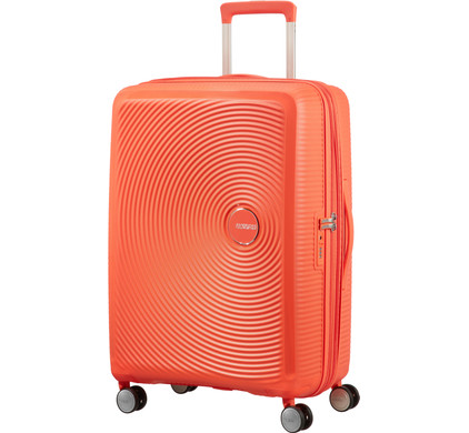 American Tourister Soundbox Expandable Spinner 67cm Spicy Peach