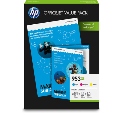 HP 953XL Office Value Pack