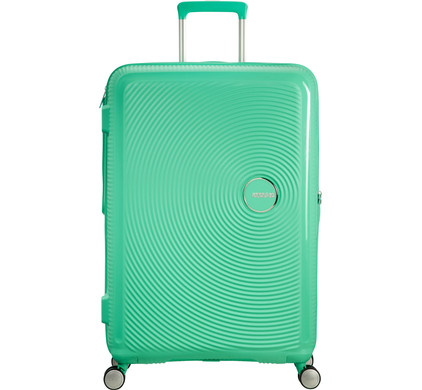 American Tourister Soundbox Expandable Spinner 77cm Deep Mint