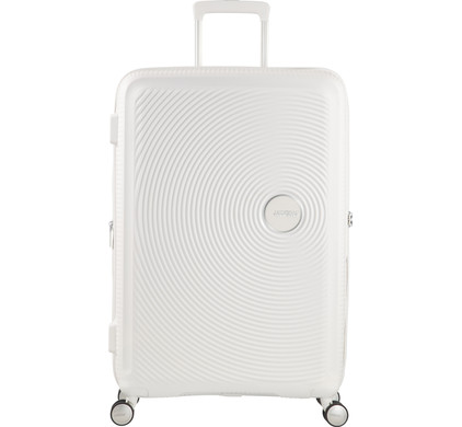 American Tourister Soundbox Expandable Spinner 67cm Pure White