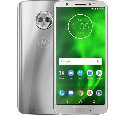 Motorola Moto G6 Zilver - Coolblue - Voor 23.59u, morgen in huis