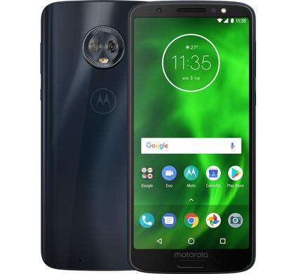 Motorola Moto G6 Blauw - Coolblue - Voor 23.59u, morgen in huis