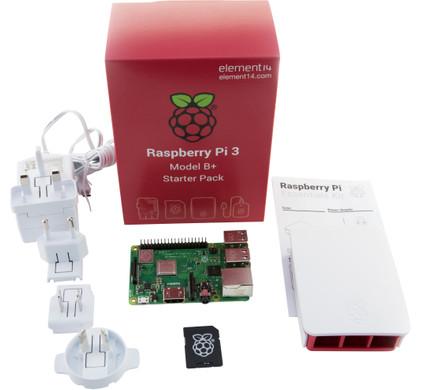 Raspberry Pi 3 Model B+ Starters Kit