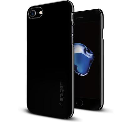 Spigen Thin Fit Apple iPhone 7/8 Zwart