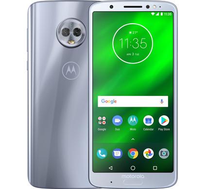 Motorola Moto G6 Plus Zilver - Coolblue - Voor 23.59u, morgen in huis
