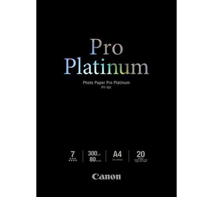 Canon PT-101 Pro Platinum Fotopapier 20 Vellen A4