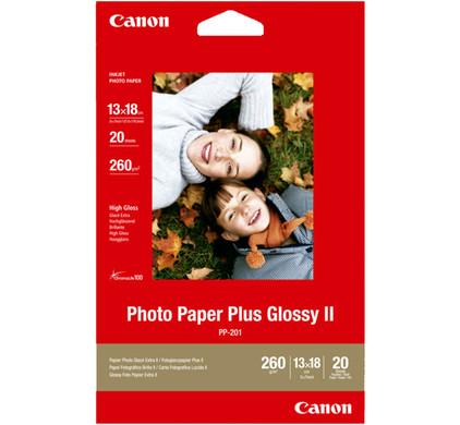 Canon PP-201 Glossy Plus Fotopapier 20 Vellen 13 x 18 cm