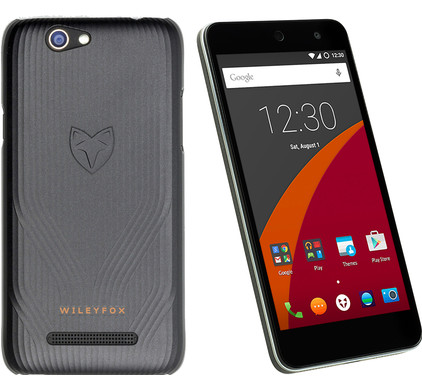 Wileyfox Swift Zwart + Back Cover