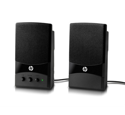 HP USB 2.0 Multimedia 2.0 Speakersysteem + Muis