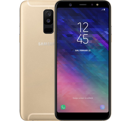 Samsung Galaxy A6 Plus 2018 Gold Before 23 59 Delivered Tomorrow