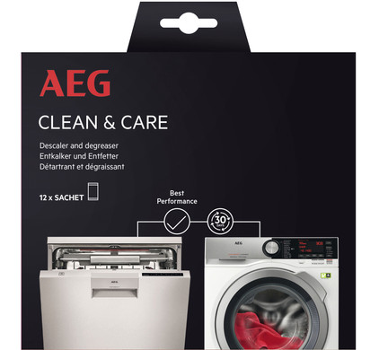 AEG dishwasher and washing machine cleaner Main Image