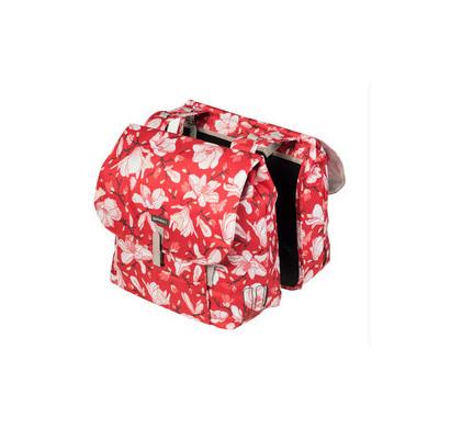 Basil Magnolia Double Bag 35L Poppy Red
