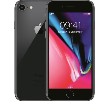 Apple iPhone 8 256GB Space Gray - Coolblue - Voor 23.59u, morgen in huis